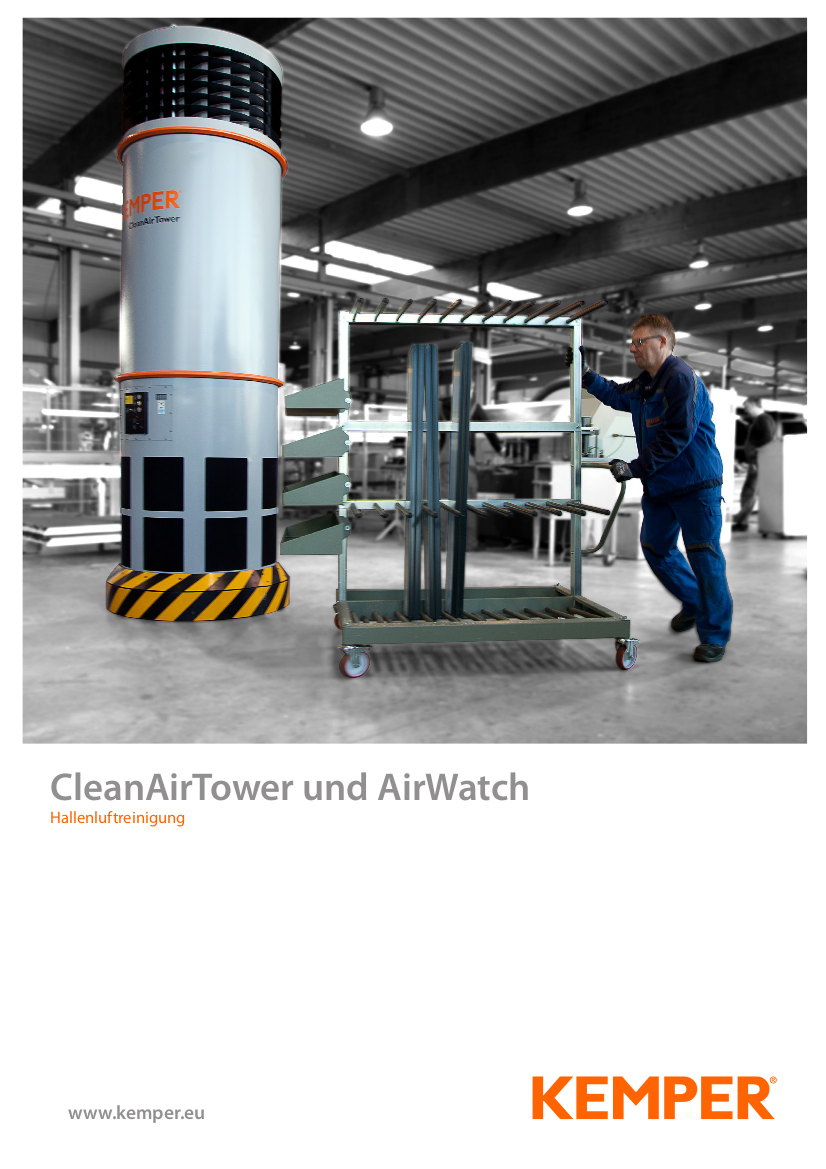 CleanAirTower und AirWatch